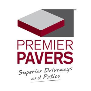 Premier Pavers Logo Classic Red